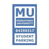 Miskatonic University Parking Pass (Student)