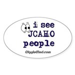JCAHO People Oval Sticker