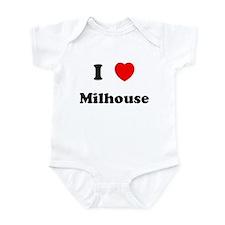 I Love Milhouse Infant Bodysuit