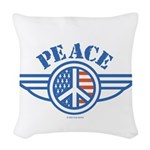 patriotic4.png Woven Throw Pillow