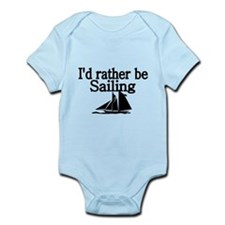 Id rather be sailing Body Suit