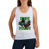 Zombie Evade Brigade Logo Tank Top