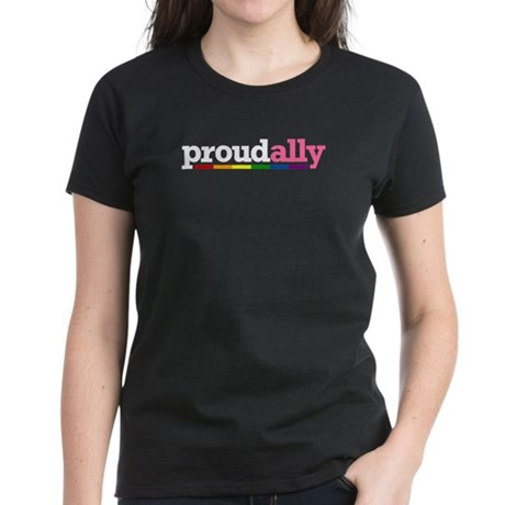 Proud Ally Women's Dark T-Shirt