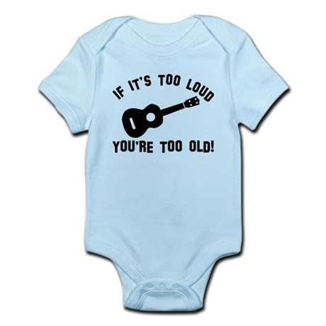 Ukelele Vector designs Infant Bodysuit