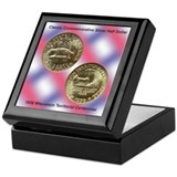 Wisconsin Territorial Coin Keepsake Box