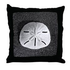 San Dollar (B&W) Throw Pillow