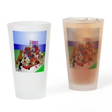 Mom's Basket Drinking Glass