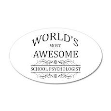 World's Most Awesome School Psychologist 20x12 Ova