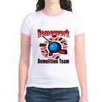 Homework Demolition Jr. Ringer T-Shirt