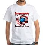 Homework Demolition White T-Shirt