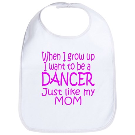 Dance Just Like Mom Bib