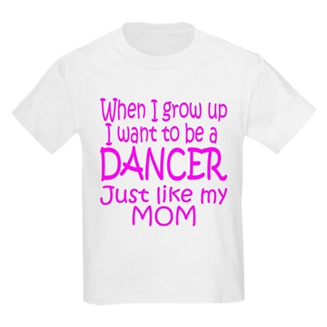 Dance Just Like Mom Kids T-Shirt