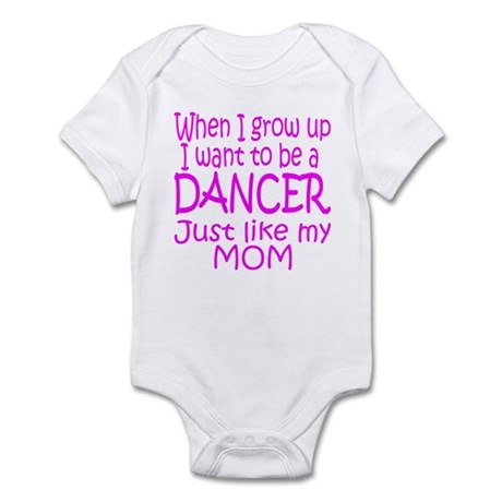 Dance Just Like Mom Infant Bodysuit