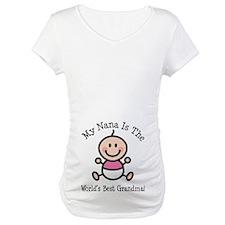 Best Nana Baby Girl Stick Figure Shirt