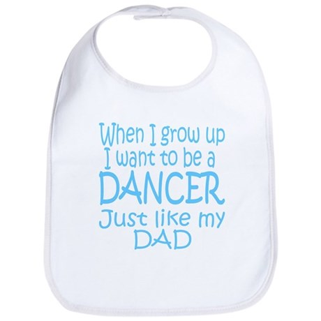 Dance Just Like Dad Bib