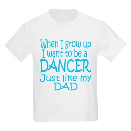 Dance Just Like Dad Kids T-Shirt