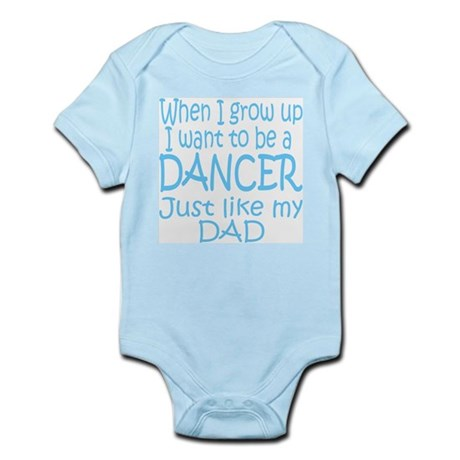Dance Just Like Dad Infant Bodysuit