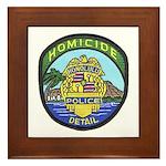 Honolulu PD Homicide Framed Tile