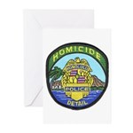 Honolulu PD Homicide Greeting Cards (Pk of 10)