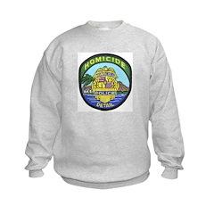 Honolulu PD Homicide Kids Sweatshirt