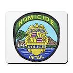 Honolulu PD Homicide Mousepad