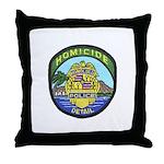 Honolulu PD Homicide Throw Pillow