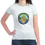 Honolulu PD Homicide Jr. Ringer T-Shirt