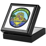 Honolulu PD Homicide Keepsake Box