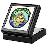 Honolulu PD Homicide Keepsake Box