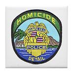 Honolulu PD Homicide Tile Coaster