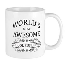 World's Most Awesome School Bus Driver Mug