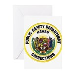 Hawaii Corrections Greeting Cards (Pk of 10)