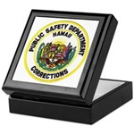 Hawaii Corrections Keepsake Box