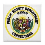 Hawaii Corrections Tile Coaster