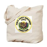 Hawaii Corrections Tote Bag