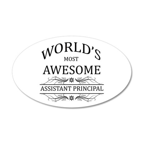World's Most Awesome Assistant Principal 20x12 Ova