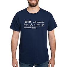 Watch the Director Navy T-Shirt