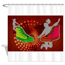 Sneakers Shower Curtain