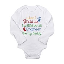 Engineer Like My Daddy Onesie Romper Suit