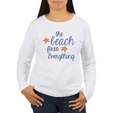 The Beach Fixes Everything Long Sleeve T-Shirt