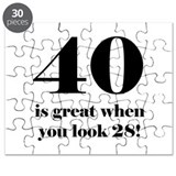 40th Birthday Humor Puzzle