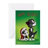 HOLIDAY SPIRIT Greeting Cards (Pk of 10)