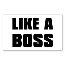 Like A Boss [bold] Decal