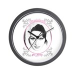 April Ashley signature Wall Clock
