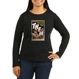 THEM Women's Long Sleeve Black T-Shirt