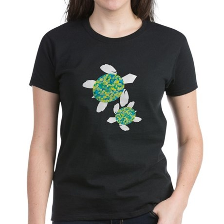 Sea Turtles Women's Dark T-Shirt