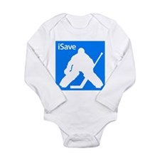 iSave Long Sleeve Infant Bodysuit