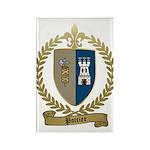 POTTIER Family Crest Rectangle Magnet (100 pack)