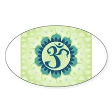 Lotus Aum Green Decal