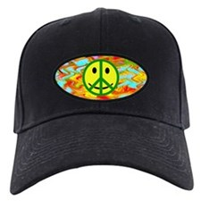 Smiley Peace Baseball Hat